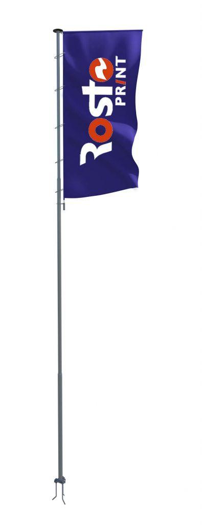 Флагшток уличный Баннер 9м
