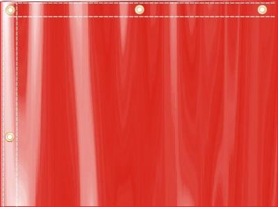 Обшивка флагов под установку люверсов