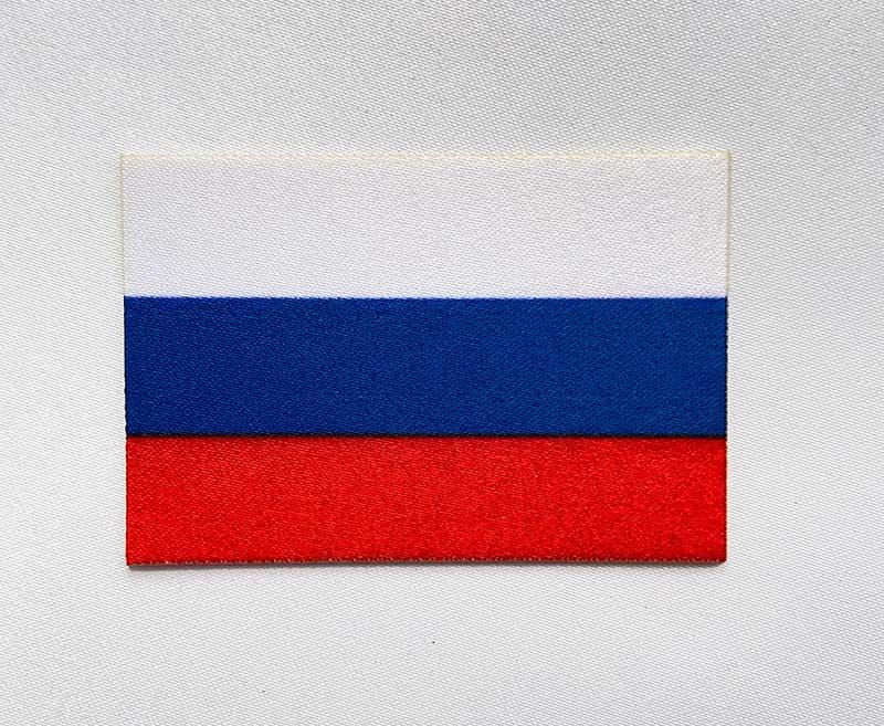 Стикер флажок РФ